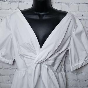 A.L.C. White Cotton blouse